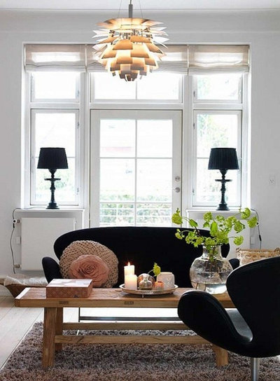 Contemporary Living Room by Danish Design Store