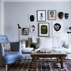 Eclectic Living Room by Danish Design Store