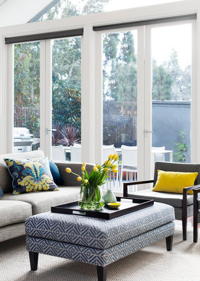 Contemporary Living Room by Moss Melbourne