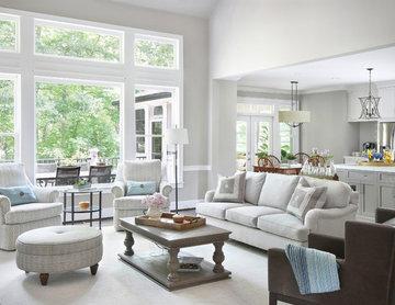 Light,  Bright Family Room Remodel in Smyrna, GA