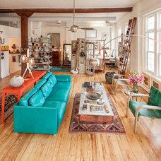 Eclectic Living Room by Wendy Umanoff - Umanoff Design