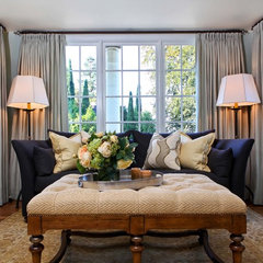 traditional living room by Garrison Hullinger Interior Design Inc.