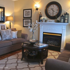 Traditional Living Room by Seaside Interiors