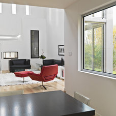 Modern Living Room by Linebox Studio