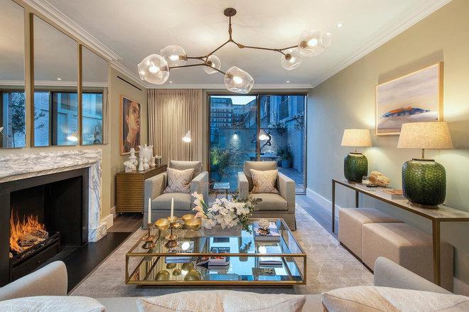 Contemporary Living Room by Light House Designs Ltd
