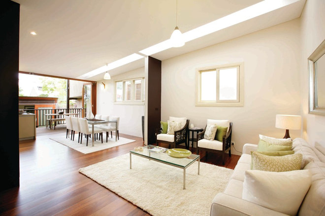 Contemporary Living Room by Danny Broe Architect