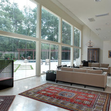 Contemporary Living Room by Atticus Architecture