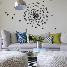 contemporary living room by Stephanie Sabbe
