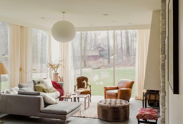 Contemporary Living Room by Annie Hall Interiors