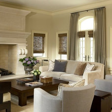 Traditional Living Room by Jeffrey Sell Associates