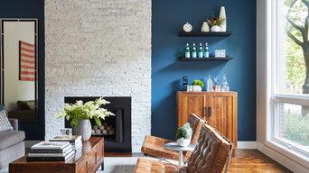 Lincoln Park Residence - Living Room