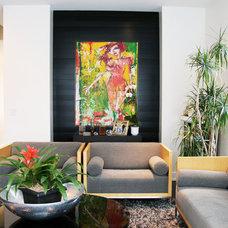 Contemporary Living Room by BrownBAG Studio