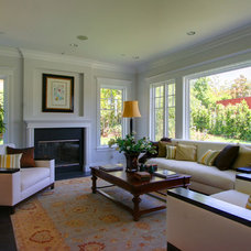 Traditional Living Room by White Picket Fence, Inc