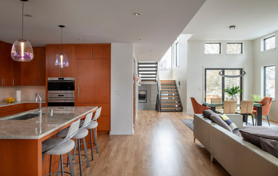 Warm Contemporary Style for Active Empty Nesters