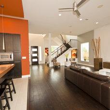 Contemporary Living Room by JMC Designs llc