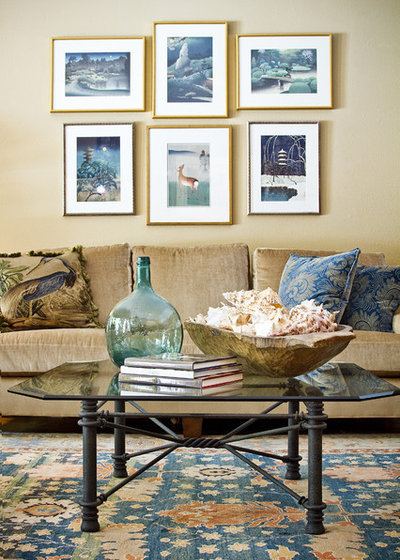 Shabby Chic Style Living Room By Allison Jaffe Interior Design LLC