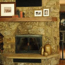 Contemporary Living Room Lindsay Miller
