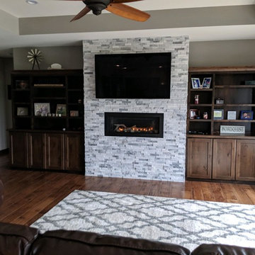 Linear and Modern Fireplace Designs