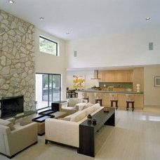 Modern Living Room by Lisa Dubin Architect