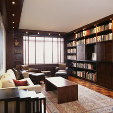 Contemporary Living Room by Lisa Dubin Architect
