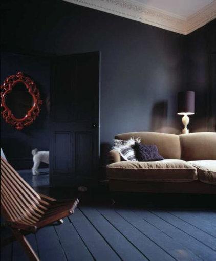 Eclectic Living Room by littlebluedeer.com