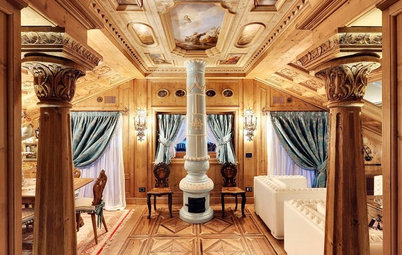 Italian Houzz: Traditional Woodcarving Brings a Castle to Life