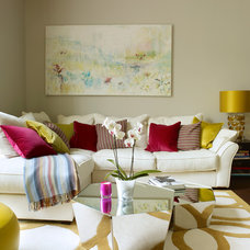 Contemporary Living Room by Rendall & Wright