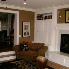 Traditional Living Room by Chris Merenda-Axtell Interior Design