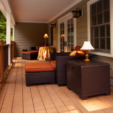 Traditional Porch by Criner Remodeling