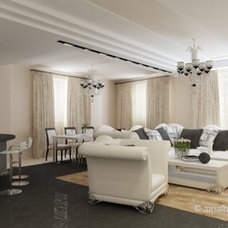 Contemporary Living Room by Alexey