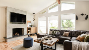 Living and dining room design Bothell, WA