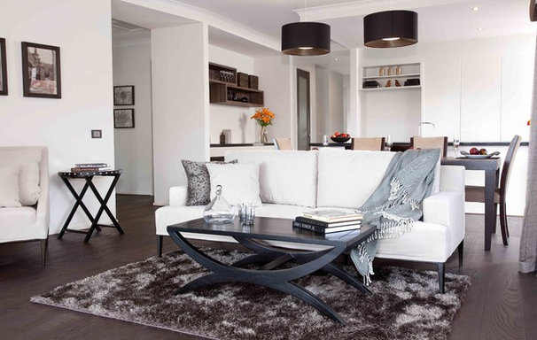 Modern Living Room by Orbit Homes