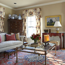 Traditional Living Room by Houseworks Interiors