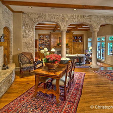 Traditional Living Room by Christopher Mann