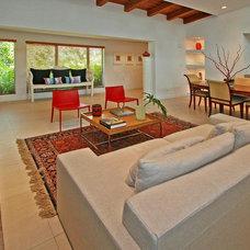Contemporary Living Room by Escala Construction Inc.