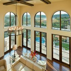 Mediterranean Living Room by Jenkins Custom Homes