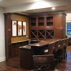 Traditional Living Room by SAS Builders LLC