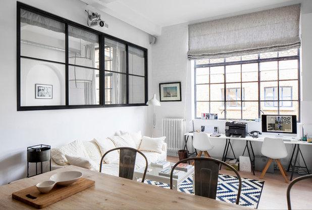 Le case di houzz eleganza scandinava in bianco e nero for Case eleganti