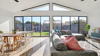 Living area- north glazing