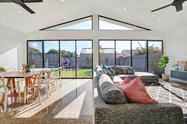 Contemporary Living Room by JLN Designs