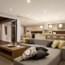 Contemporary Living Room by Orbit Homes