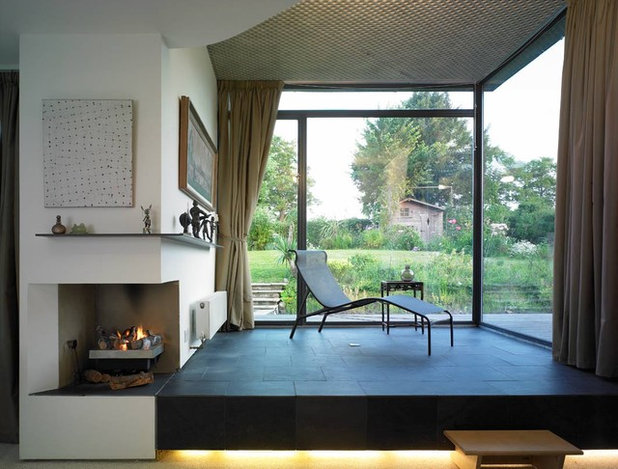 Moderno Salón by David Churchill - Architectural  Photographer