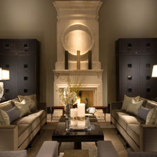 Contemporary Living Room by Platinum Series by Mark Molthan
