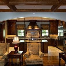 Traditional Living Room by Rogan Allen Builders LLC