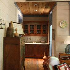 Eclectic Living Room by GraysonHarris Interiors + Design, LLC