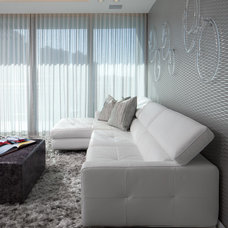 Modern Living Room by RS3 DESIGNS