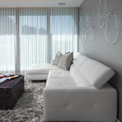 modern living room by RS3 Innovative + Architectural DESIGN