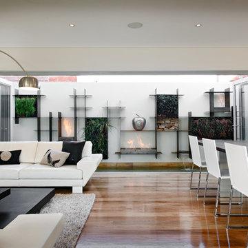Living/Dining by Moda Interiors