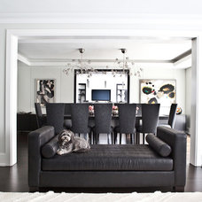 Modern Living Room by Jodie Rosen Design