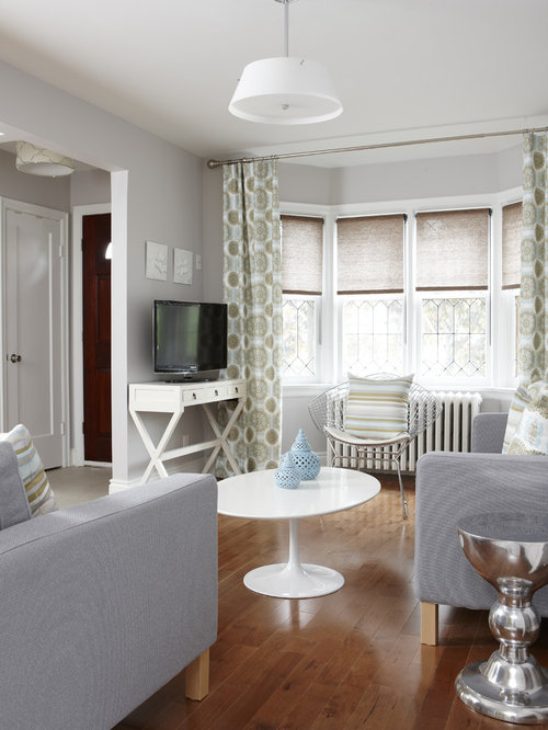 Bay Window Curtains Houzz